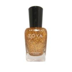画像1: 【ZOYA】ネイルカラーポリッシュ:ゴールドフレーク(トップコート)