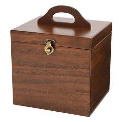 画像1: 日本製 木製メイクボックス コスメボックス