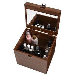 画像4: 日本製 木製メイクボックス コスメボックス