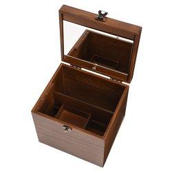 画像3: 日本製 木製メイクボックス コスメボックス